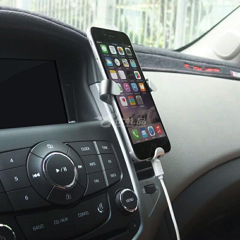 Dokiy 铁爪重力全自动车载手机支架 出风口卡扣式手机通用手机座