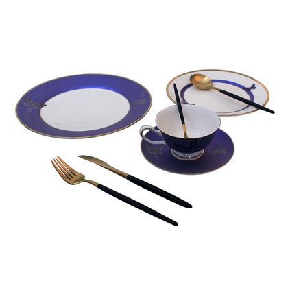 西式餐具情侶餐具牛排餐具骨質瓷餐具禮品高檔陶瓷西餐盤套裝