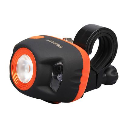 柯玛士 强光LED迷你自行车灯前灯山地车灯夜骑车灯 骑行装备配件