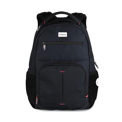 WEPLUS唯加新款背包男士电脑包双肩包男15.6英寸笔记本包