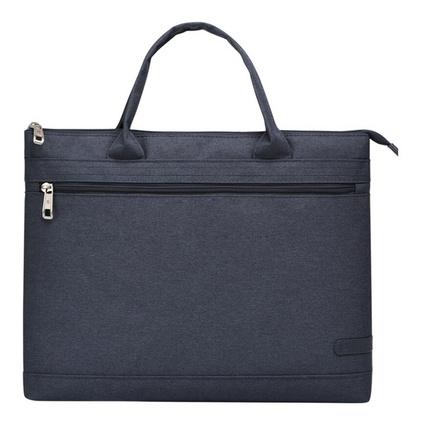 WEPLUS唯加極簡牛津布男士公文包商務休閑手提包 筆記本電腦包男女通用