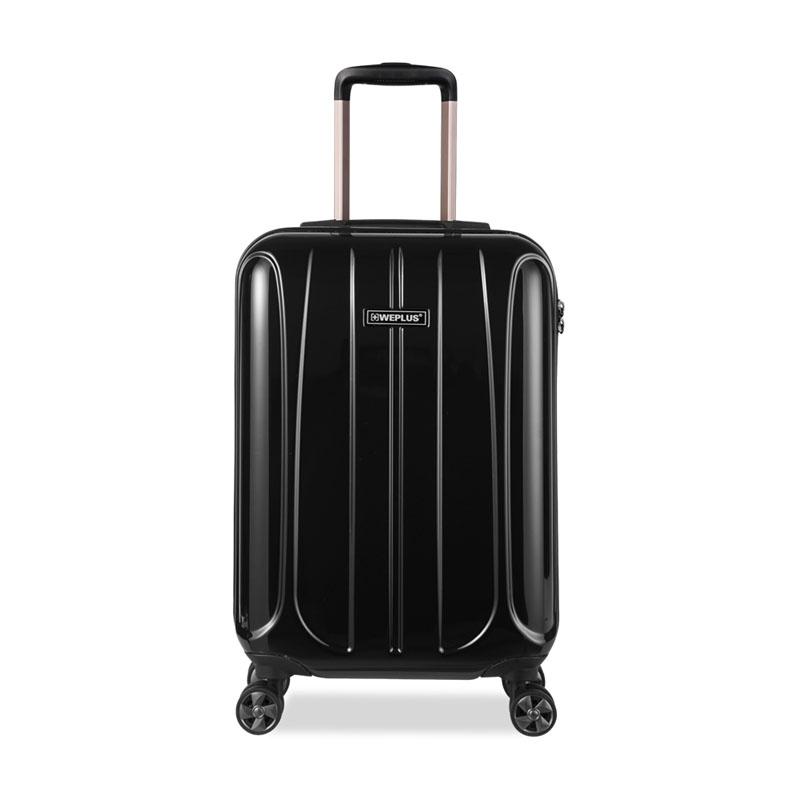 WEPLUS高端商务旅行箱行李箱男女纯PC拉杆箱20寸行李箱