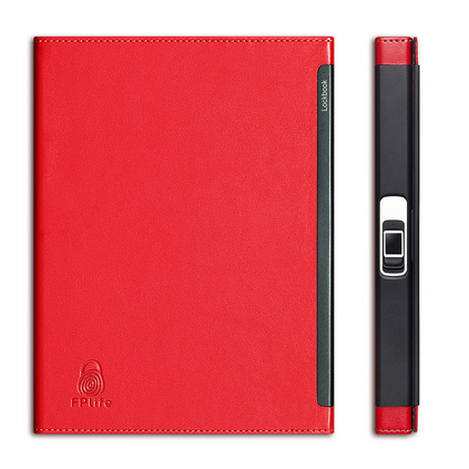 Lockbook指纹锁笔记本 指纹解锁蕾丝商务办公记事本