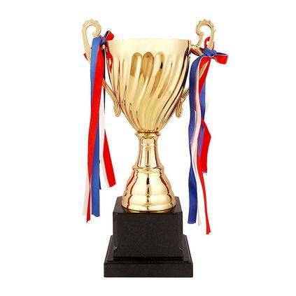 37.5CM定制無蓋金屬獎杯舞蹈比賽獎杯 學生金屬定制獎杯定制