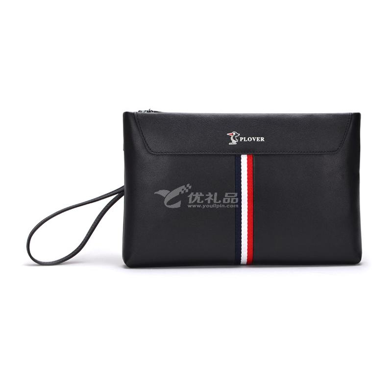 啄木鸟手包真皮信封包商务大容量手拿包定制