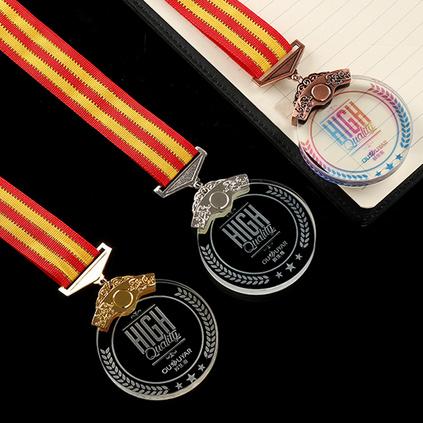金屬水晶掛牌獎牌獎章 馬拉松跑步臺球籃球足球自行車舉重體育比賽掛牌獎品定制