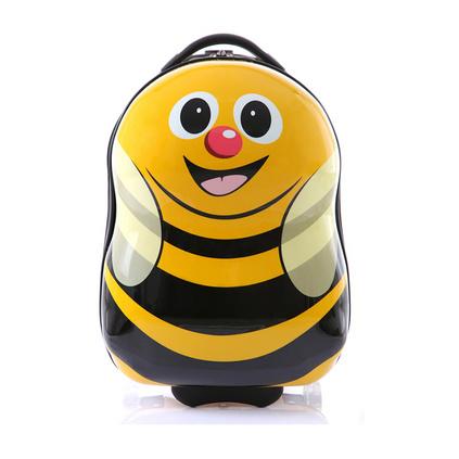 卡通兒童圖案拉箱16寸蛋殼卡通拉桿箱品牌行李箱定制