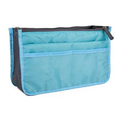 化妝包加厚大容量洗漱包 雙拉鏈多功能包中包整理收納包定制