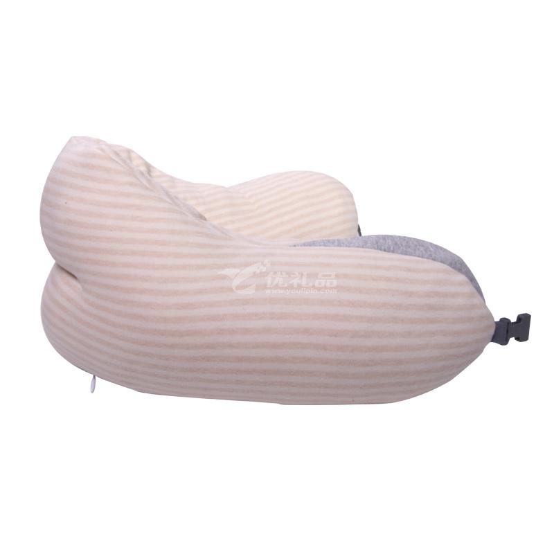蝸牛睡眠親膚棉透氣音樂護頸枕助眠枕 飛機火車高鐵旅行枕頸枕定制
