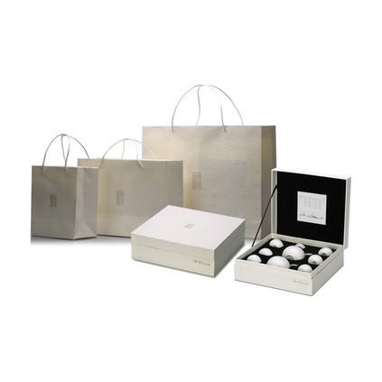 原初格物 知音白瓷茶具套裝創意文化商務禮品八件套定制
