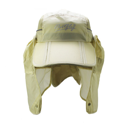 outfly可收納折疊款護脖漁夫帽多功能漁夫帽折疊帽戶外釣魚防曬帽定制