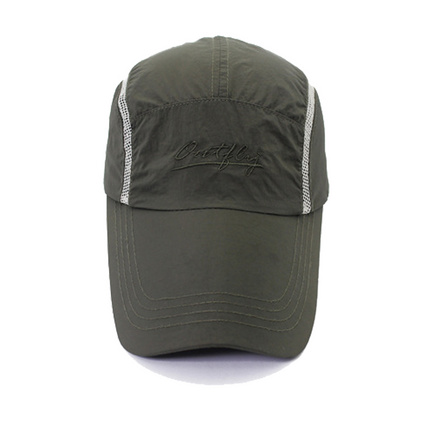 outfly運動帽 加長帽檐速干快干鴨舌帽子男士夏天遮陽帽定制