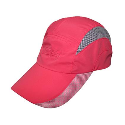 outfly夏季跑步帽户外新款拼网帽檐出游登山棒球帽速干帽 旅行携带小巧定制
