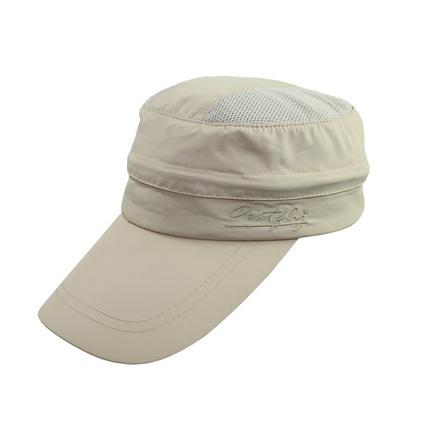 outfly可拆卸型空頂帽驢友戶外速干登山釣魚帽男女士多功能鴨舌帽定制