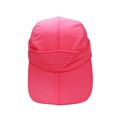 outfly可收纳两用空顶帽夏天纯色多功能鸭舌帽太阳帽遮阳帽旅游帽定制
