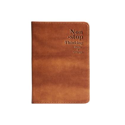 新款軟皮記事本禮盒裝商務辦公筆記本本子企業定制