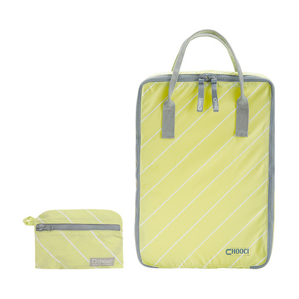CHOOCI馬卡龍清新旅行衣物袋女 便攜折疊手拎包收納包定制