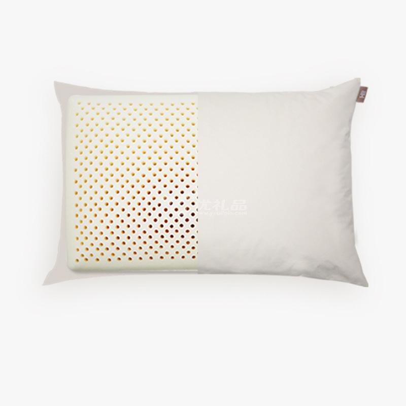 小米8H標準乳膠枕定制 小米8H泰國天然乳膠枕頭成人橡膠護頸椎記憶保健枕芯Z1