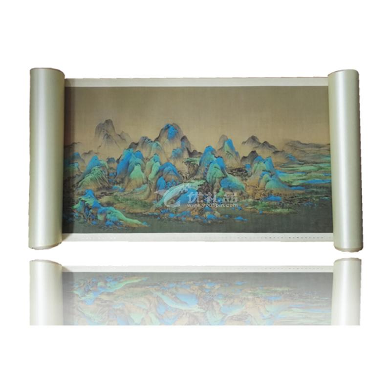故宮出版社《千里江山圖》鈔券版珍藏品裝飾品定制