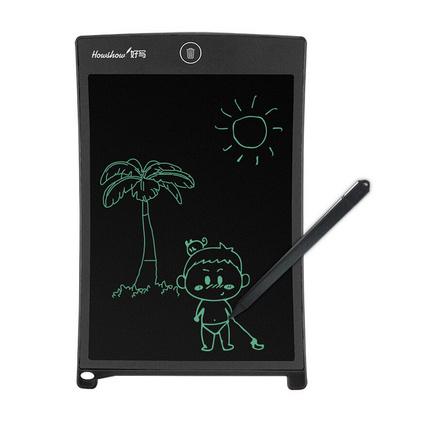 好写(HOWSHOW)8.5英寸儿童写字板 液晶电子?#20013;?#26495; 家庭留言备忘涂?#25442;?#30011;小黑板定制