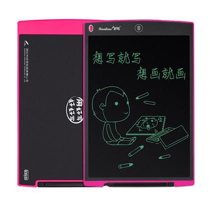 12英寸液晶电子?#20013;?#26495; 儿童写字板 早教涂?#25442;?#30011;小黑板定制