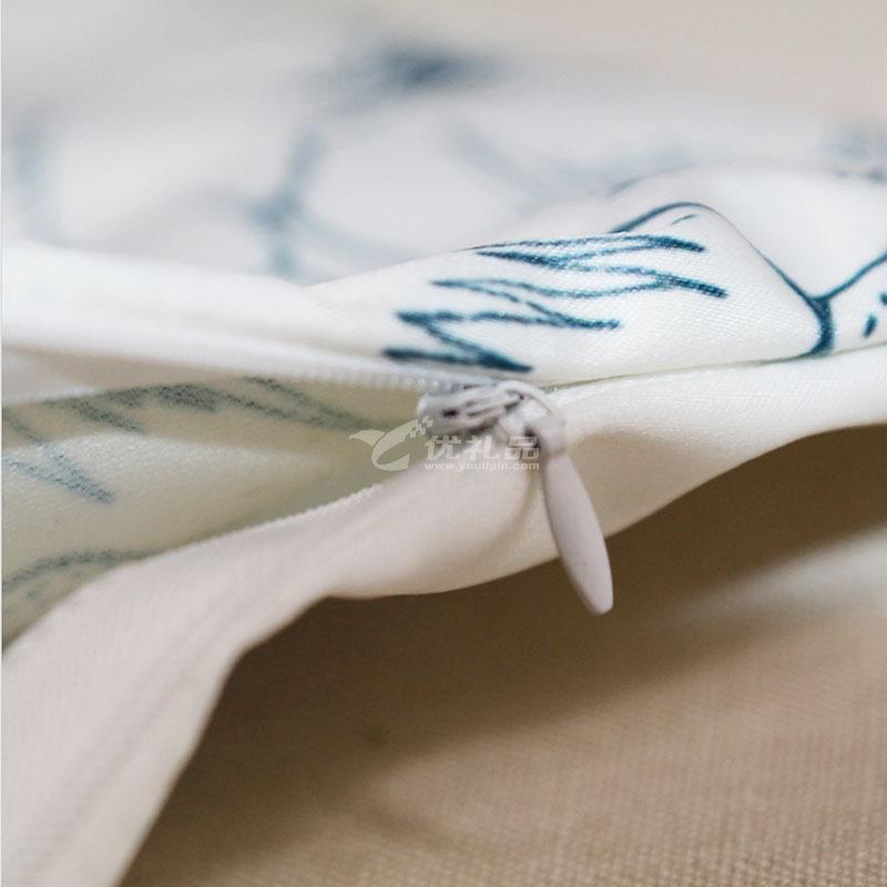 秘密花園填色抱枕套個性diy涂鴉家居靠墊套親子手工彩繪創意禮品定制