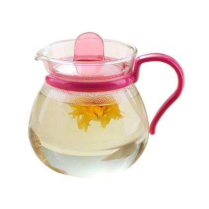 日本iwaki怡萬家原裝進口耐熱玻璃茶壺日式創意茶具微波袋定制