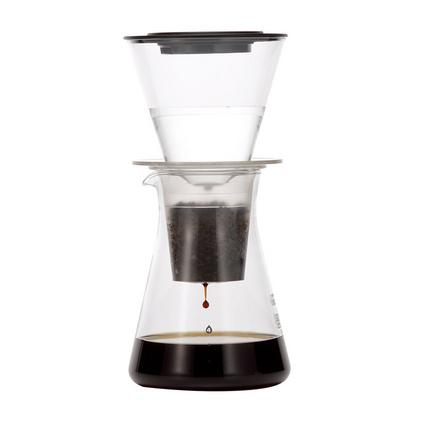 日本怡万家进口手冲咖啡壶家用 冷水冲泡耐热玻璃滴漏咖啡滤杯定制