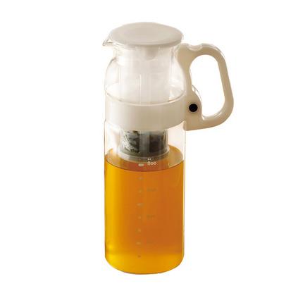 日本怡萬家原裝玻璃水壺大容量涼水壺可過濾茶壺水杯果汁壺定制