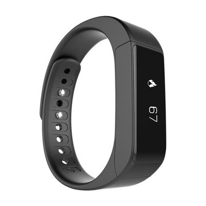 埃微(iwown) I5plus觸控式 藍牙4.0來電顯示遙控自拍智能運動手環定制