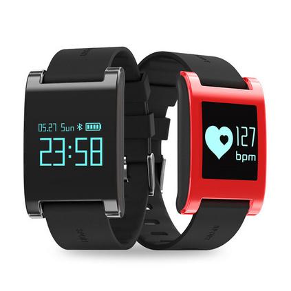 智能男女运动手环计步器防水心率手环测血压睡眠 信息提醒触屏手环定制 DM68