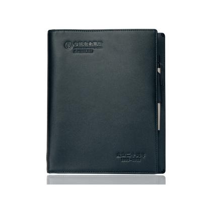 真皮筆記本 定制高檔活頁記事本 二層牛皮筆記本商務筆記本定做