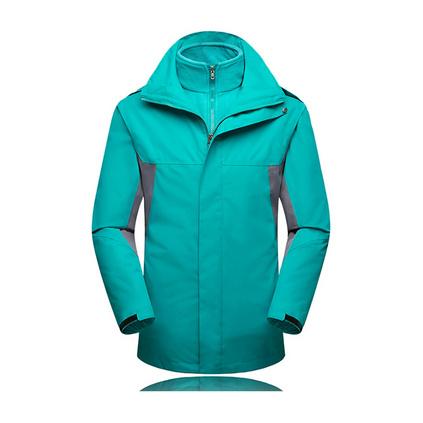 無縫壓膠沖鋒衣秋冬戶外運動防寒服保暖衣員工工作服定做