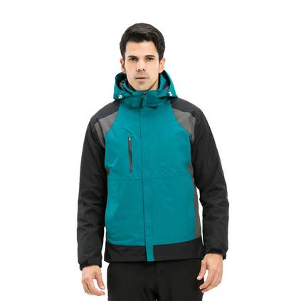 新款羽绒冲锋衣登山运动滑雪防寒抗风服定做