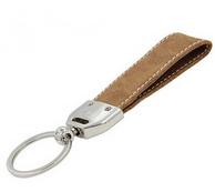 創意金屬PU皮鑰匙扣精致鑰匙圈定制