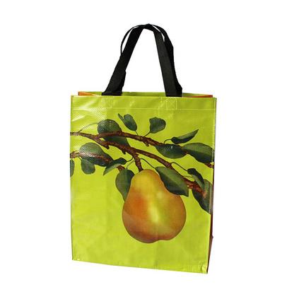PP編織覆膜手提袋無紡布拉鏈淋膜環保購物袋子定制