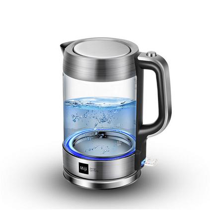 米技(MIJI)HK-3301 1.8升肖特玻璃高硼硅玻璃電熱水壺定制