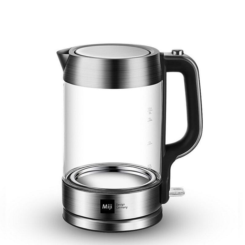 米技(MIJI)HK-3301 1.8升肖特玻璃高硼硅玻璃电热水壶定制