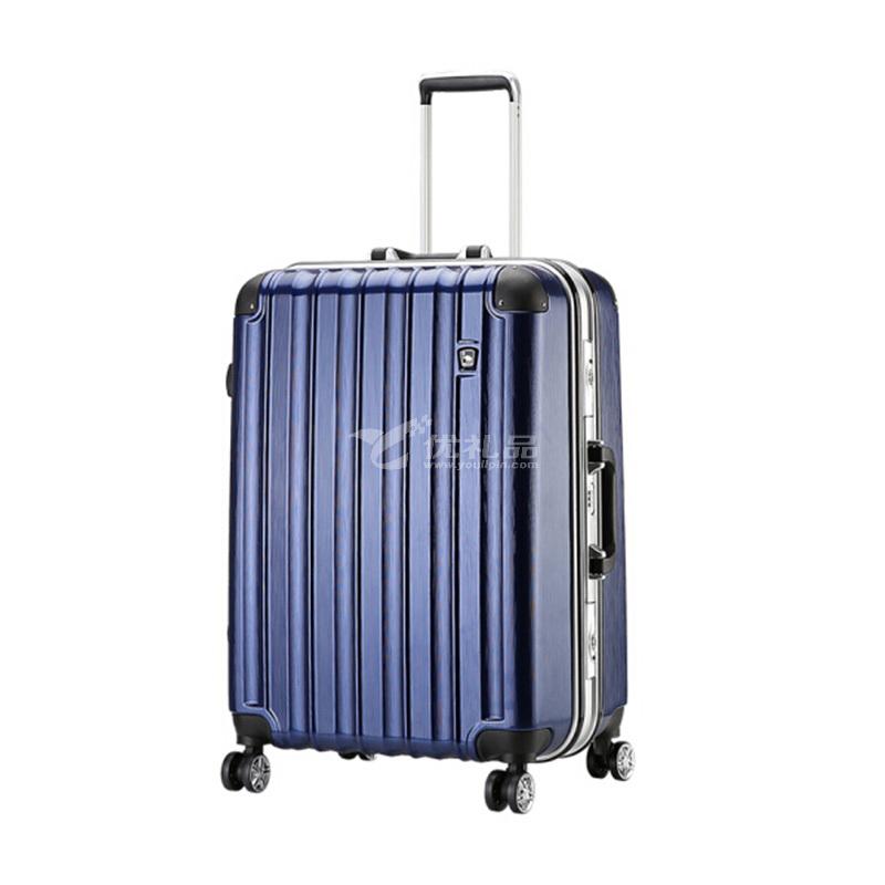 爱华仕OCX6220 24寸铝框旅行拉杆箱出差登机箱旅行箱定制