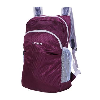 拓藍(TULN)新款皮膚包輕行包戶外折疊收納雙肩背包定制