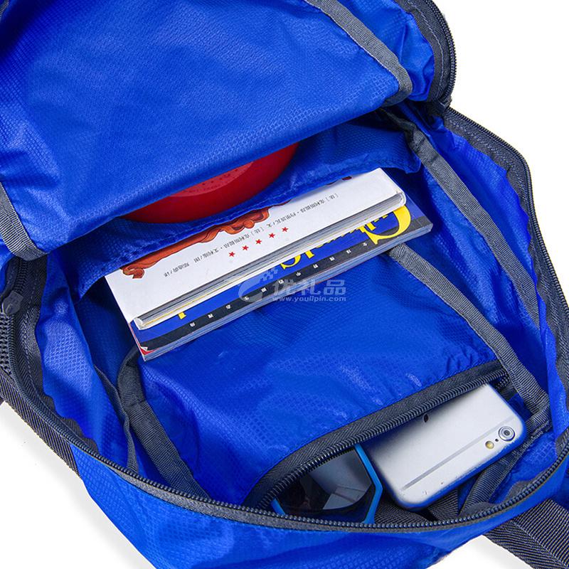 拓藍 (TULN)戶外休閑雙肩皮膚包折疊防水輕盈便攜旅行背包定制