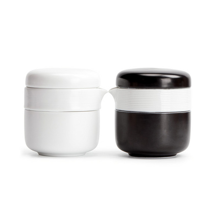 朴风快客杯旅行茶具防烫陶瓷杯定制