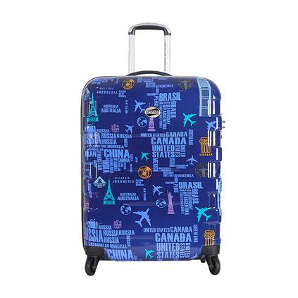 美國旅行者萬向輪旅行箱包 四輪拉桿箱 28寸商務行李箱定制