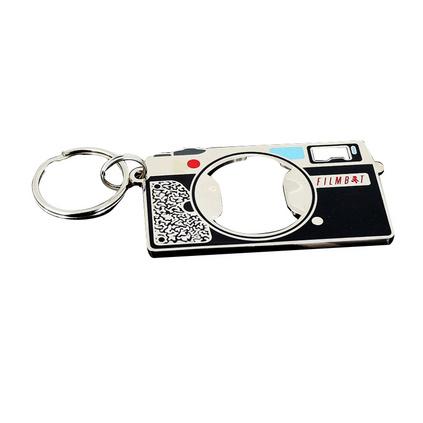 多功能金屬創意入色鋅合金開瓶器鑰匙扣定制