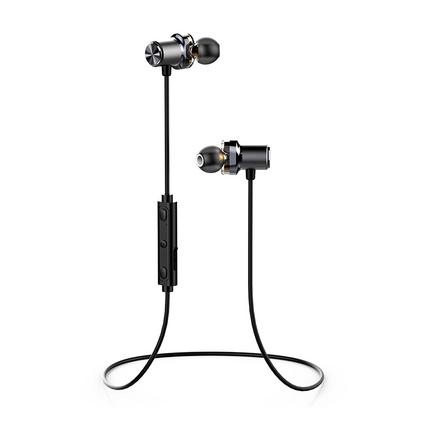 幻响(i-mu)B18 双动圈无线运动蓝牙耳机 纳米防水 磁吸防脱落 入耳式游戏耳机 手机线控耳麦 全合金材质音乐耳机定制