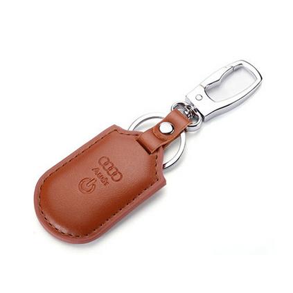 防丟器手機藍牙雙向追蹤定位拍照智能真皮現款汽車扣子鑰匙扣定制