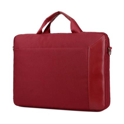 新款電腦包15寸公文包手提商務斜挎包單肩包定制