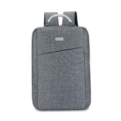 韩版商务手提电脑双肩包男简约15寸背包休闲学生书包定制