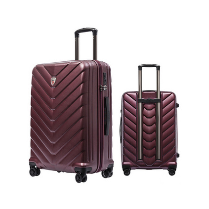 銀座高端商務防刮拉桿箱萬向輪 20寸登機行李箱行李箱定制