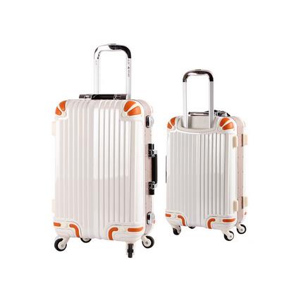 銀座 商務拉桿箱 個性萬向輪旅行箱 鋁框行李箱定制